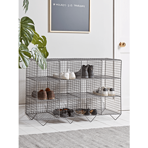 NEW Wire Shoe Rack