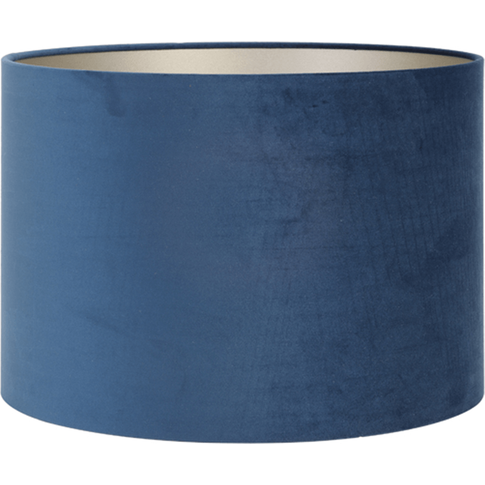 Large Velvet Shade - Navy