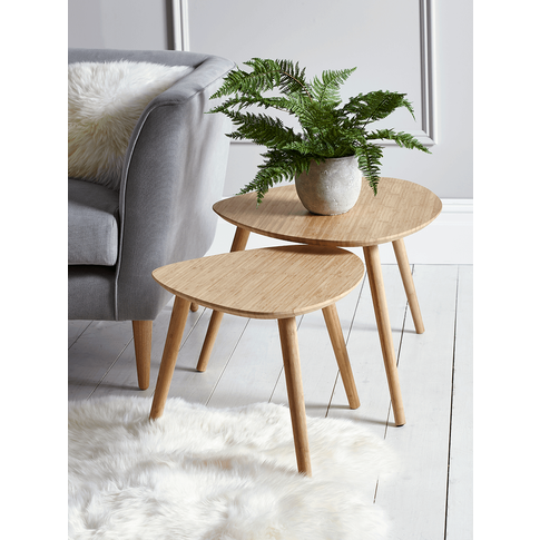 Two Aalto Nesting Tables