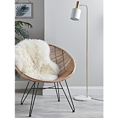 Hudson Floor Lamp - White
