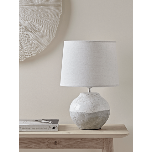 New Dip Glaze Table Lamp - Small