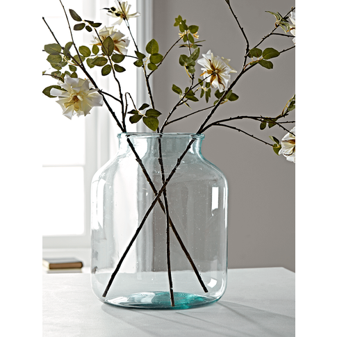 New Recycled Glass Elegant Vase - Large