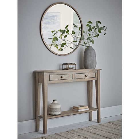 New Camille Console Table - Limewash