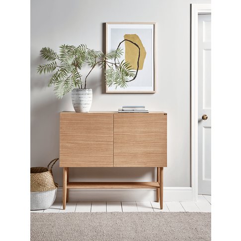 New Slim Oak Sideboard