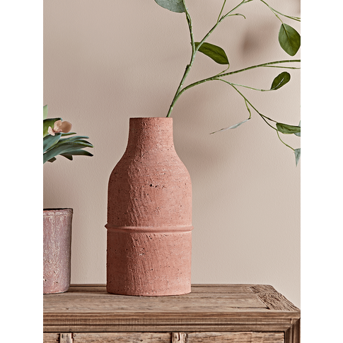 Unglazed Terracotta Vase