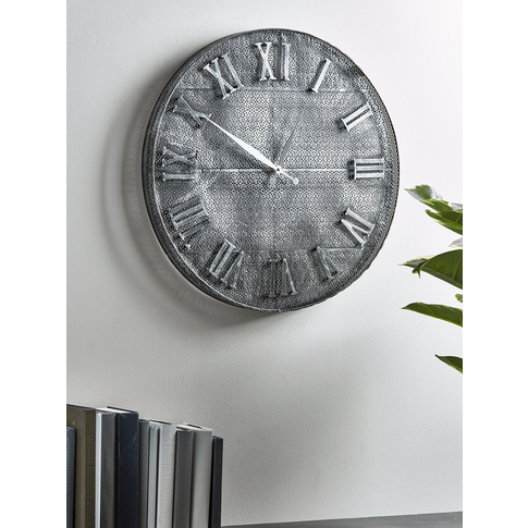 New Industrial Mesh Clock