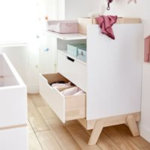 Lifetime Baby Changing Unit And Junior Desk