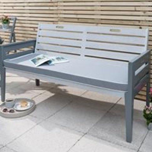 Grigio 3 Seat Wooden Garden Bench