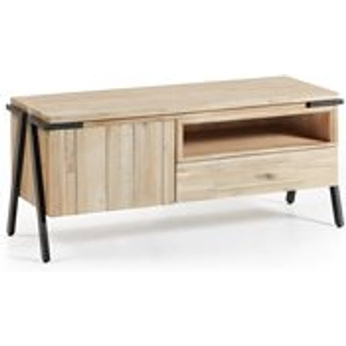 Disset Acacia Wood Tv Stand