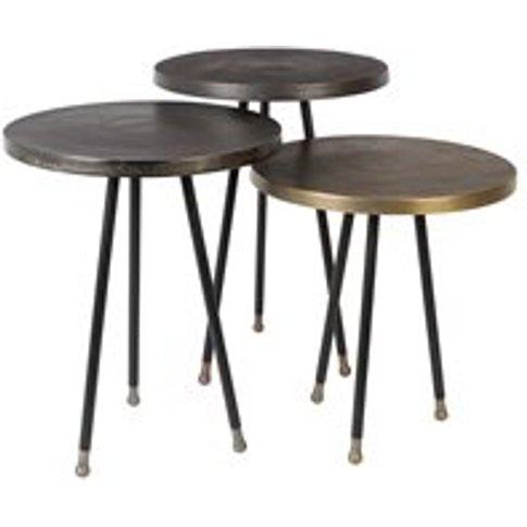 Dutchbone Alim Side Tables Set Of 3