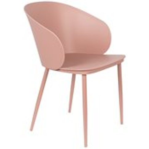 Pair Of Gigi Dining Chairs - All Pink