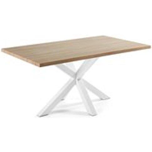 Arya Modern Dining Table In White