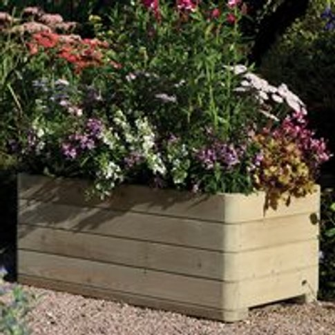 Rowlinson Marberry Wooden Planter - Rectangle