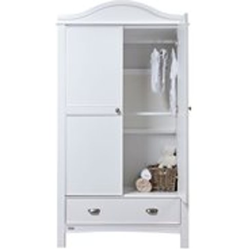 East Coast Toulouse Double Wardrobe In White