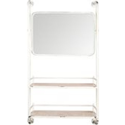 Dutchbone Barber Mirror Wall Shelf
