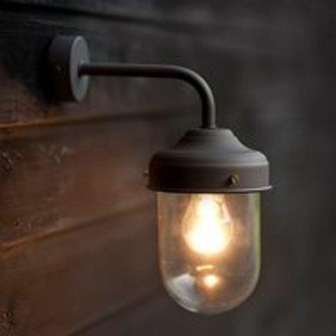 Garden Trading Barn Garden Wall Light in Coffee Bean