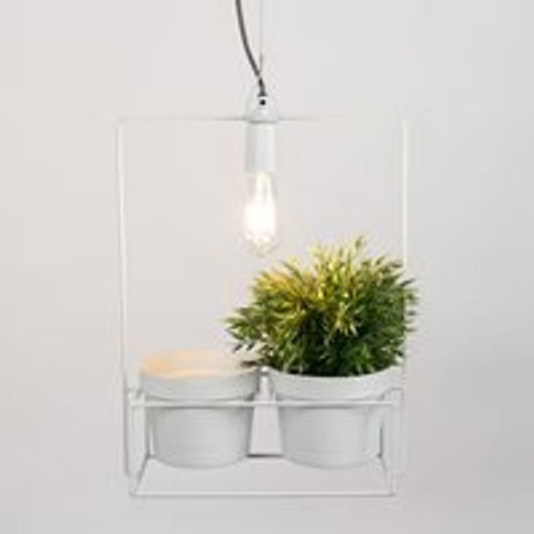Bart Pendant Light with Planter