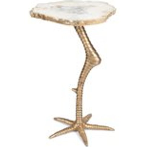 Bold Monkey Beauty And The Bird Side Table