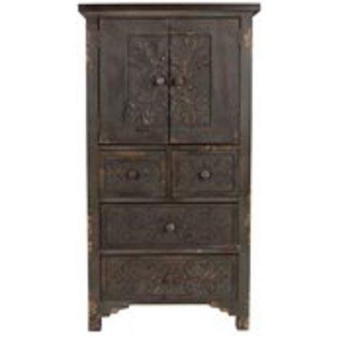 Dutchbone Fuz Vintage Cabinet Storage Unit In Solid ...