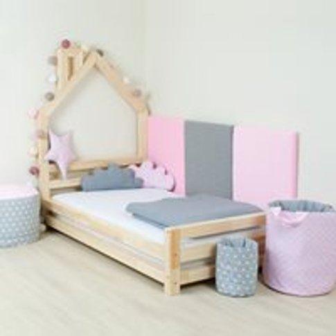 Benlemi Wally Single Bed - Pink