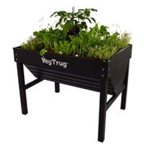 Vegtrug Aluminium Planter - Black