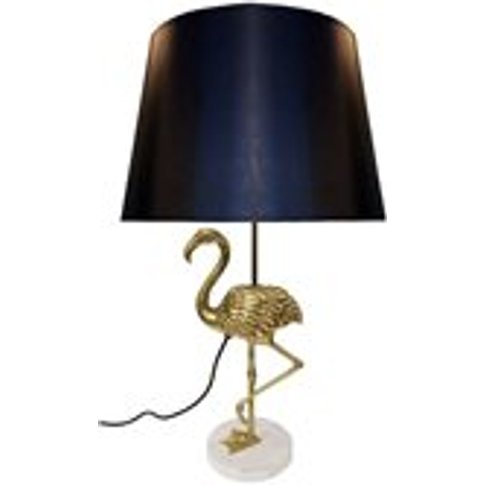 Culinary Concepts Flamingo Table Lamp - Black and Gold