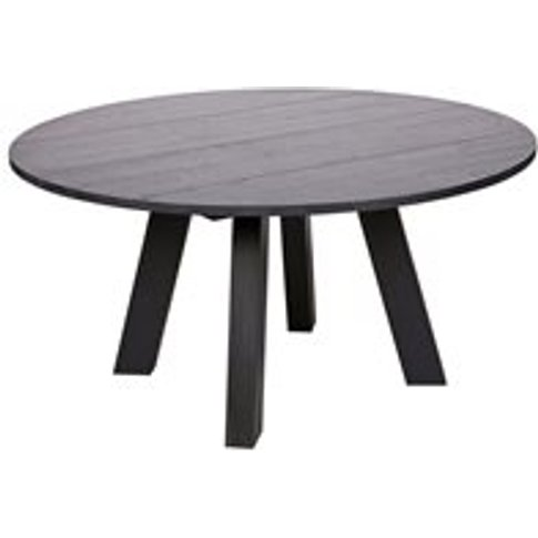 Rhonda Round Dining Table In Blacknight Oiled Oak By...