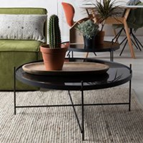 Zuiver Cupid Coffee Table in Black - Large