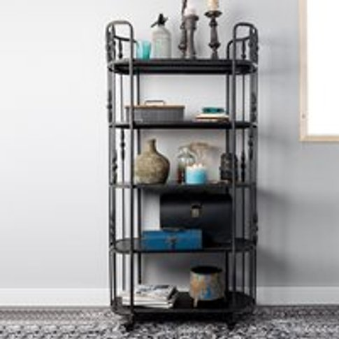 Blos Iron Trolley Shelving Unit