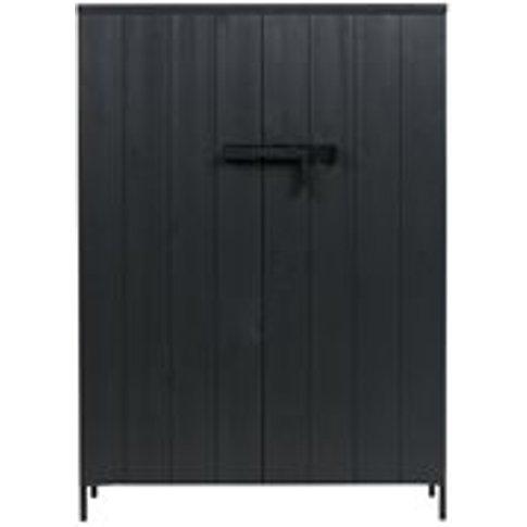 Bruut Pine Cabinet With 2 Doors By Woood - Seconds C...