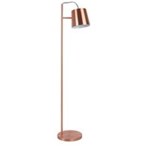 Zuiver Buckle Head Floor Lamp in Copper