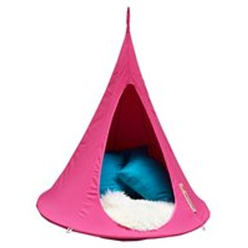 Bonsai Cacoon Kids Hanging Chair in Fuchsia Pink