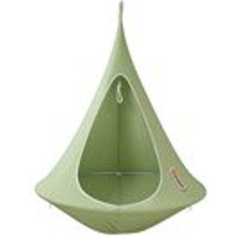 Bonsai Cacoon Kids Hanging Chair In Leaf Green
