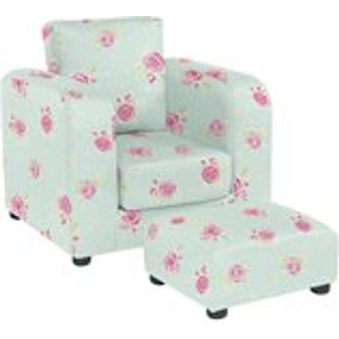Kids Chair With Footstool