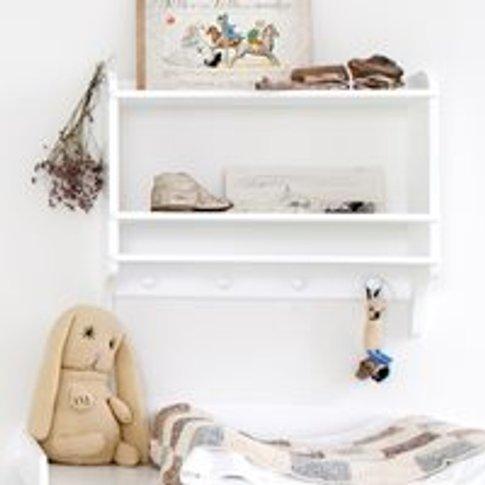 Oliver Furniture Children's Wall Mounted Bookshelf &...