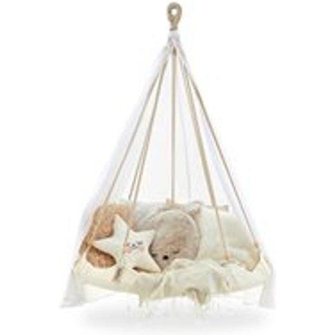 Kids TiiPii Bambino Hammock Bed in Natural White