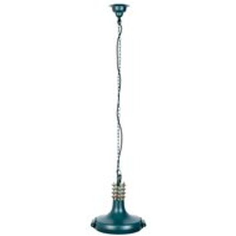 Dutchbone Coil Pendant Light in Teal