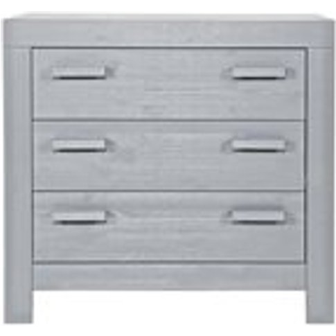 New Life Chest of Drawers in Brushed Concrete Grey b...
