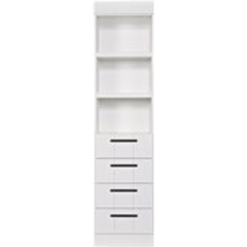 Connect Contemporary Drawer Cabinet in White by Woood