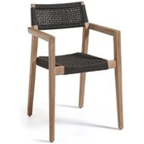 Corvette Solid Acacia Wood Dining Chair