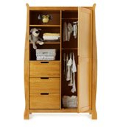 Obaby Stamford Double Wardrobe in Country Pine