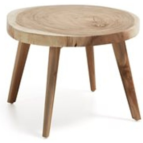 Creswell Solid Wood Side Table