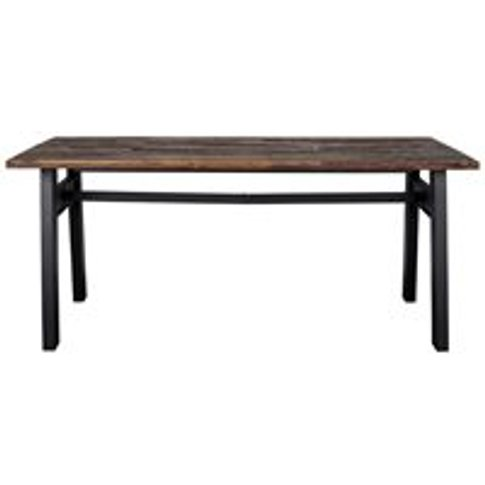 Dutchbone Crude Dining Table In Reclaimed Elm Wood -...