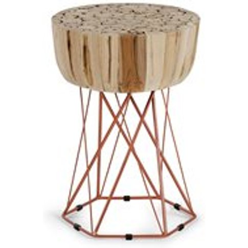 Dekon Small Teak Side Table