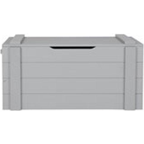 Dennis Kids Storage Box in Concrete Grey by Woood - ...