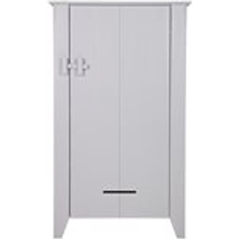 Farmer Cabinet in Rough Sawn Pine Design by Woood - ...