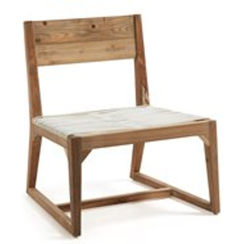 Laurent Recycled Teak Lounge Chair