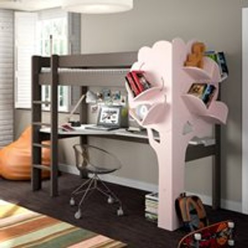 Mathy by Bols Dominique High Sleeper Bed with Desk &...