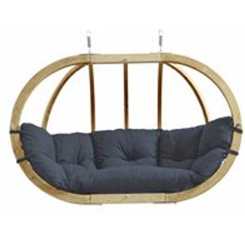 Globo Royal Garden Hanging Chair in Weatherproof Ant...