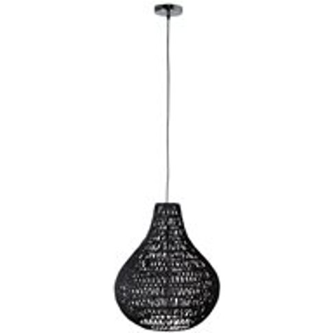 Zuiver Cable Drop Pendant Light In Twisted Paper
